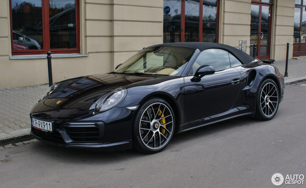 porsche 991 turbo s cabriolet mkii 27 march 2017 autogespot. Black Bedroom Furniture Sets. Home Design Ideas