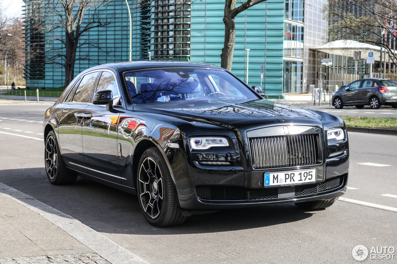 rolls royce ghost series ii black badge 27 march 2017 autogespot. Black Bedroom Furniture Sets. Home Design Ideas