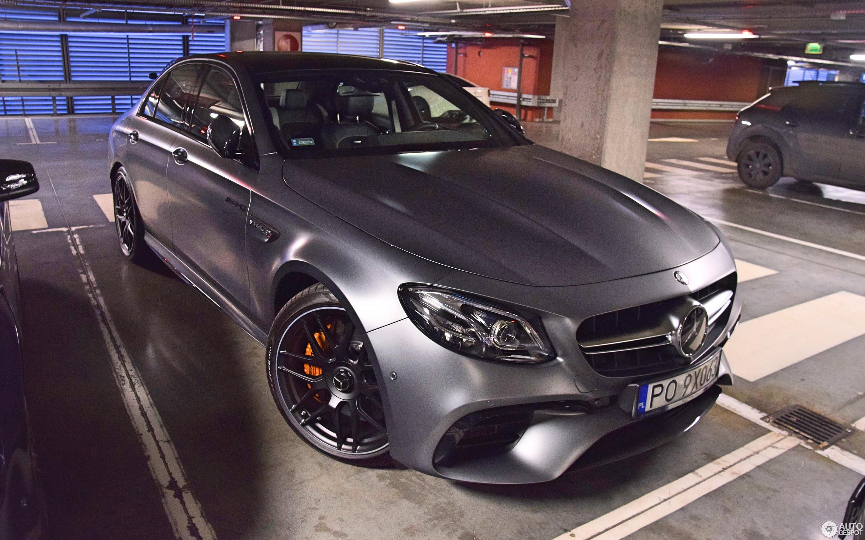 Mercedes AMG E 63 S W213 28 March 2017 Autogespot