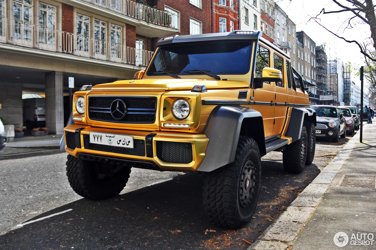 Mercedes benz g 63 amg 6x6 29 march 2017 autogespot for Mercedes benz amg 6x6 price