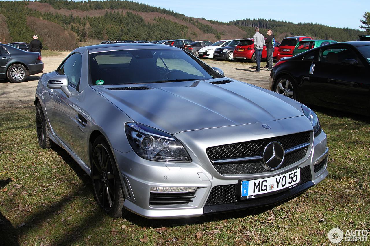 Mercedes benz slk 55 amg r172 29 march 2017 autogespot for Mercedes benz slk amg 2017