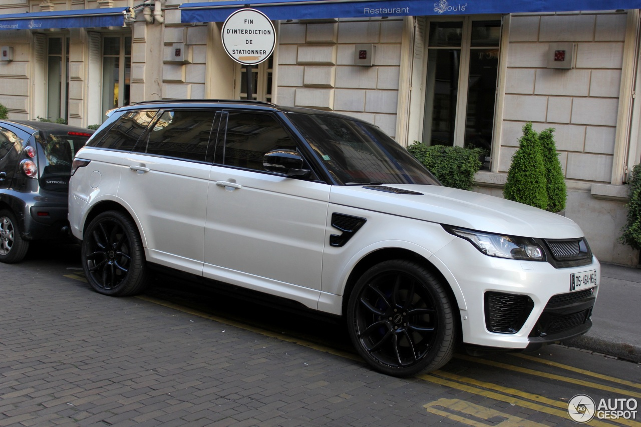 land rover range rover sport svr 30 march 2017 autogespot. Black Bedroom Furniture Sets. Home Design Ideas