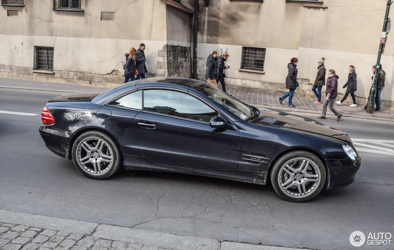 Mercedes benz sl 600 r230 1 april 2017 autogespot for Mercedes benz c 600
