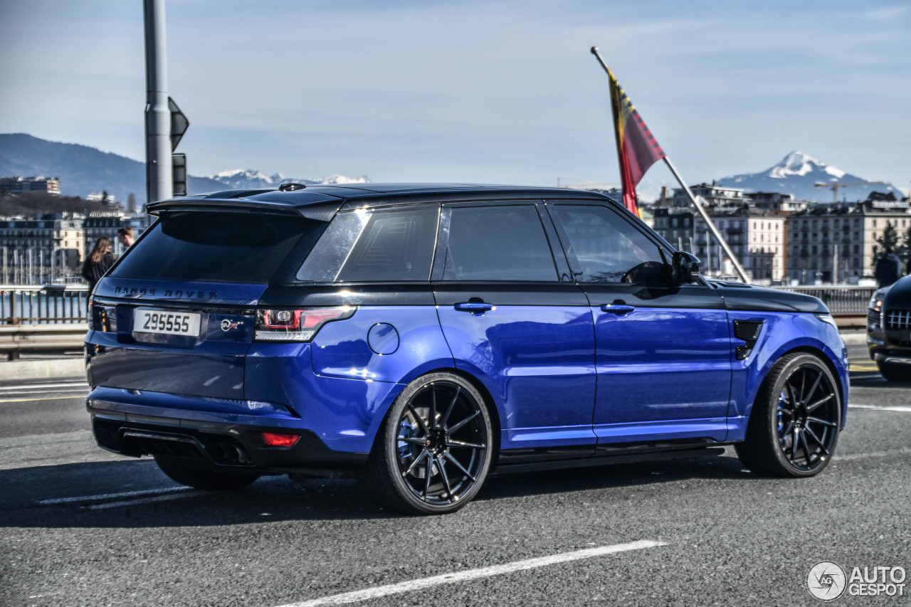 land rover range rover sport svr 2 april 2017 autogespot. Black Bedroom Furniture Sets. Home Design Ideas