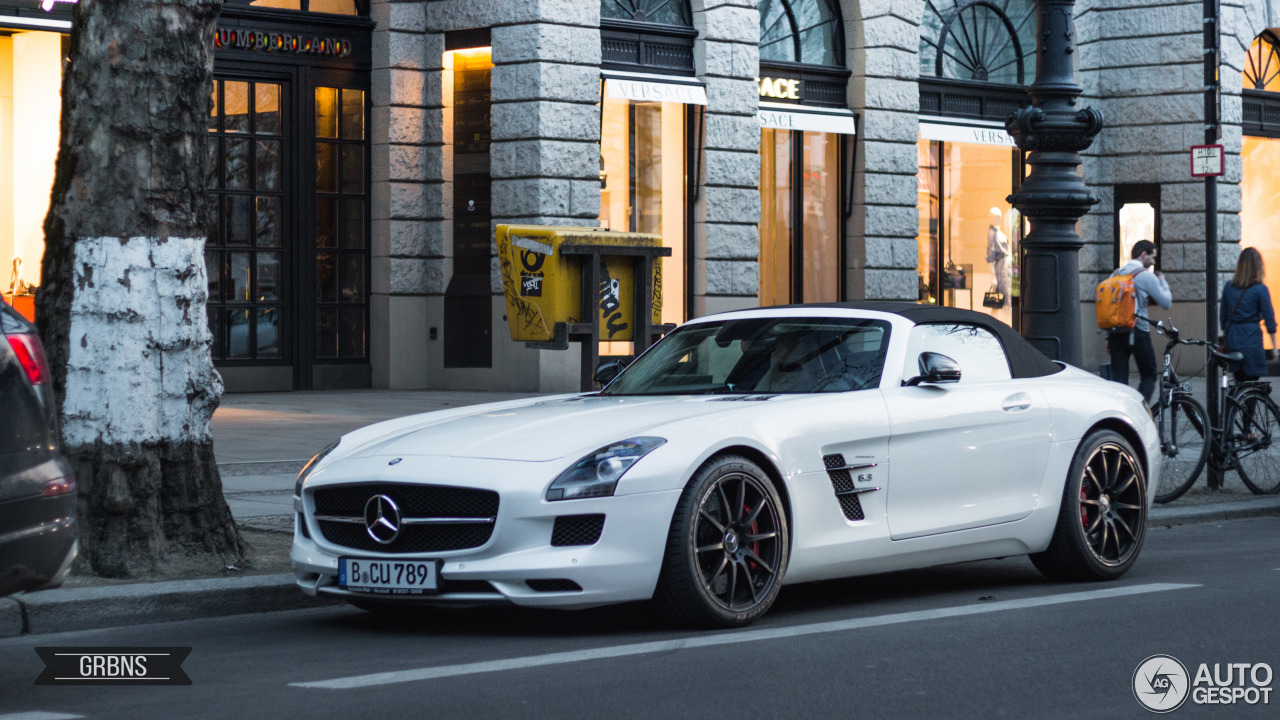 Mercedes Benz Sls Amg Gt Roadster