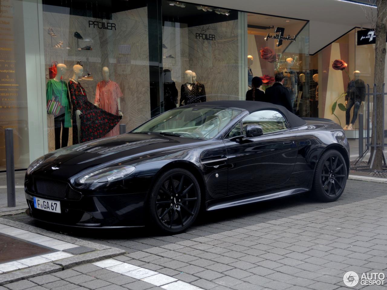 Aston Martin V12 Vantage S Roadster How Car Specs