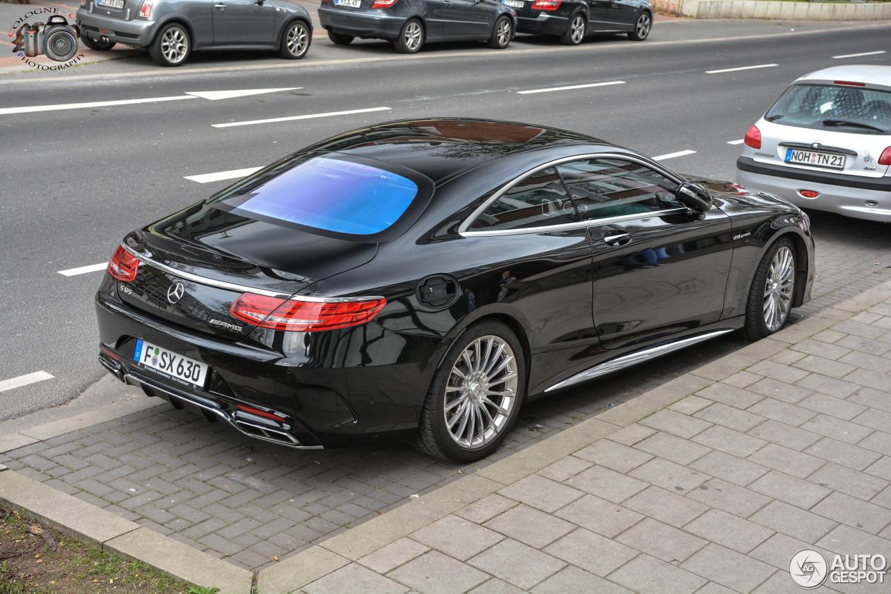 Mercedes benz s 65 amg coup c217 3 april 2017 autogespot for 2017 amg s 65 mercedes benz