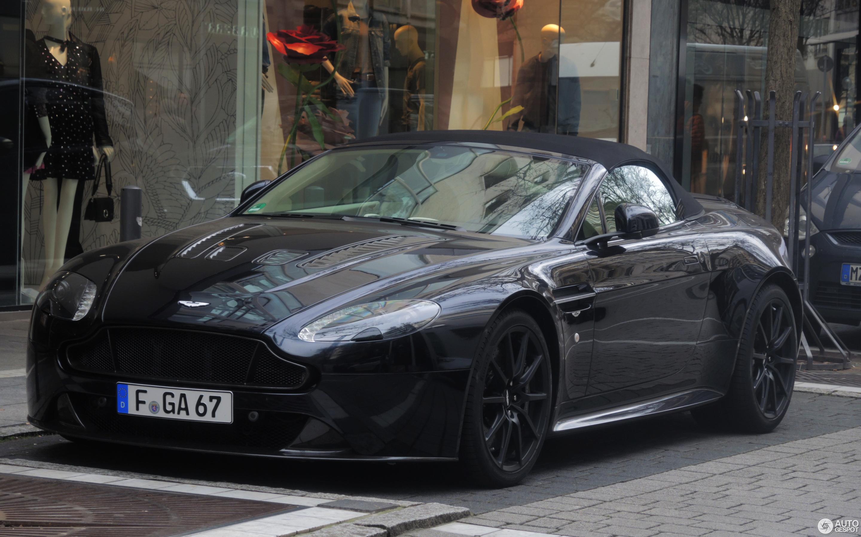 Aston Martin V Vantage S Roadster April Autogespot - Aston martin v12