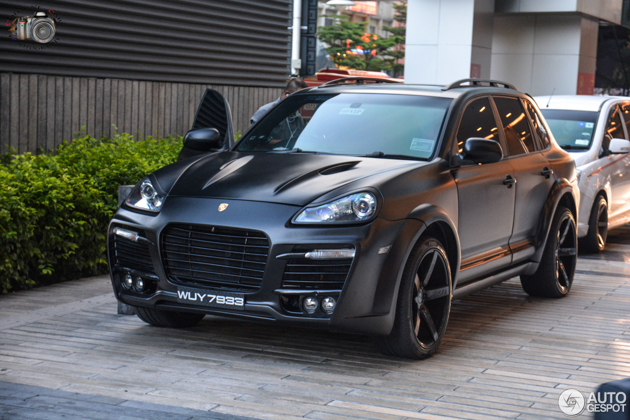 porsche cayenne techart magnum 2007 3 april 2017 autogespot. Black Bedroom Furniture Sets. Home Design Ideas