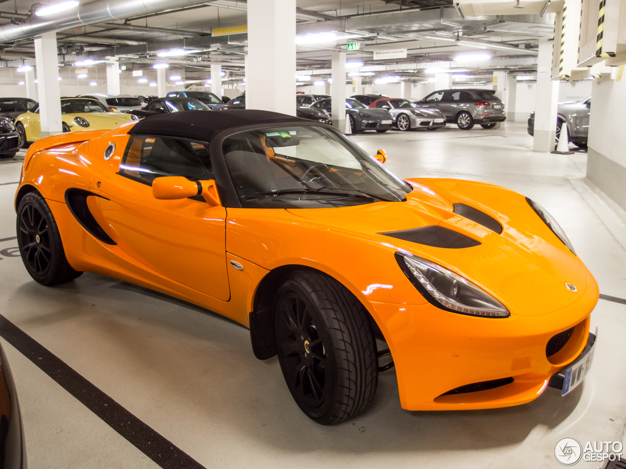 lotus elise s3 220 sport 4 april 2017 autogespot. Black Bedroom Furniture Sets. Home Design Ideas