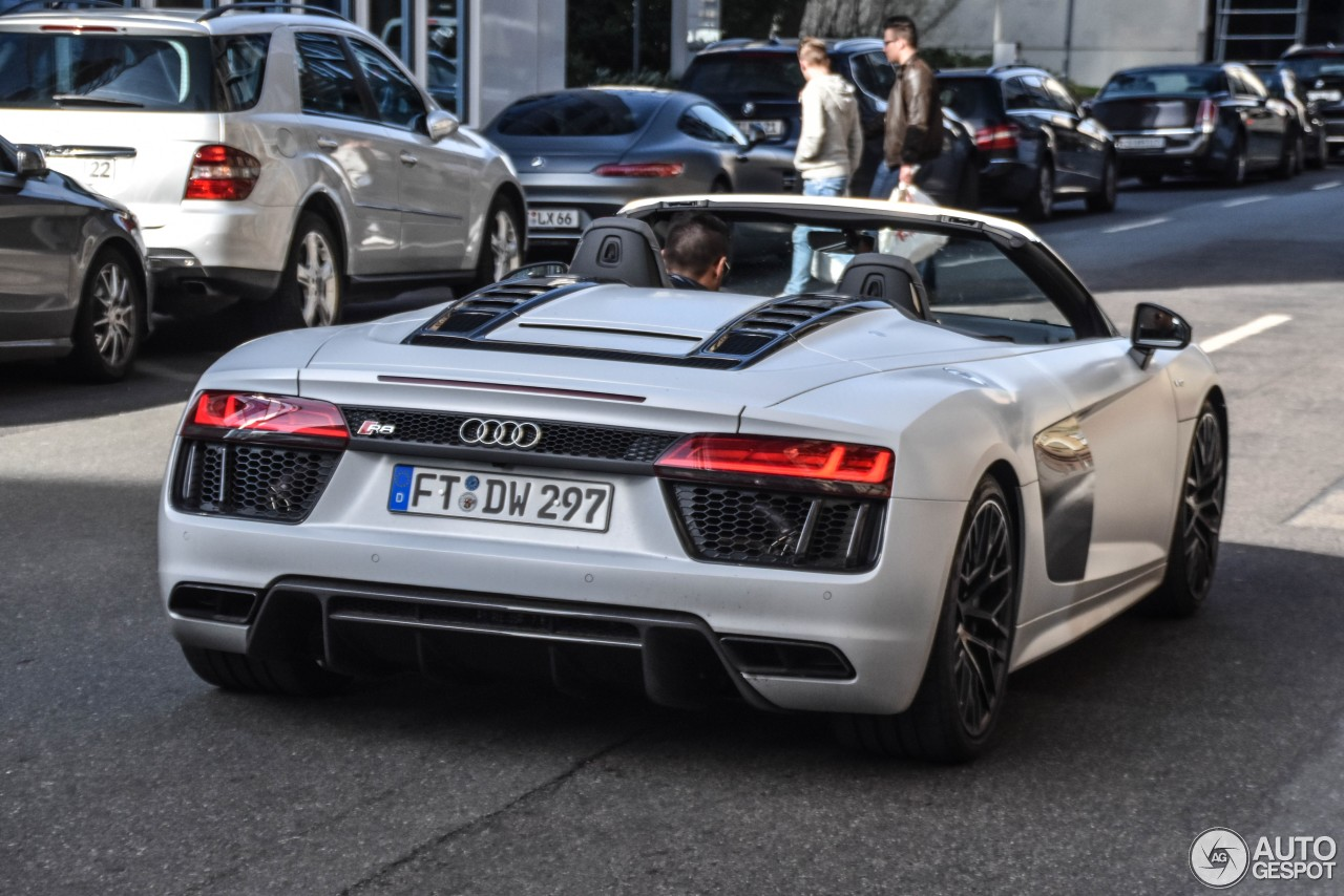 Audi R8 V10 Spyder 2016 - 5 April 2017 - Autogespot