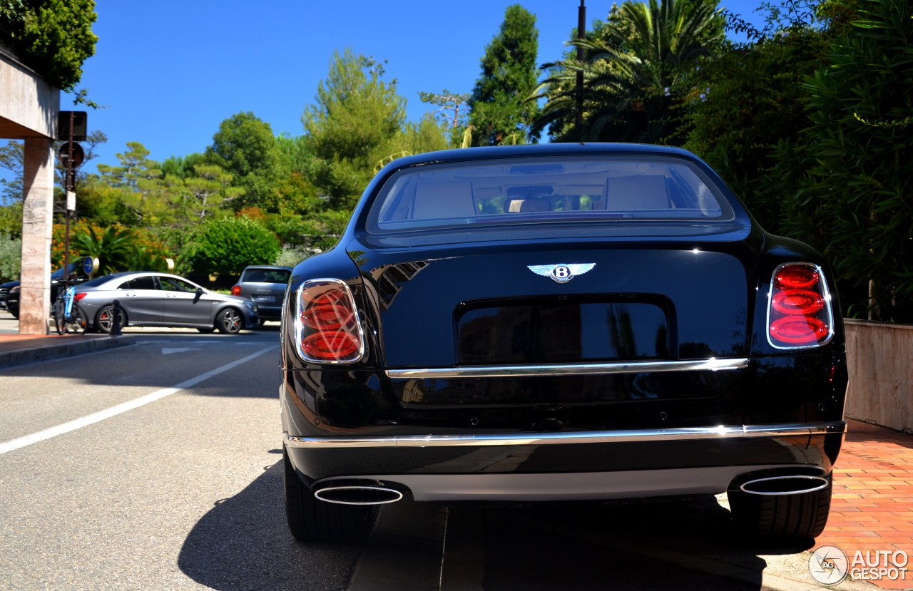 Bentley Mulsanne Speed Blue Train Edition - 5 April 2017 ...