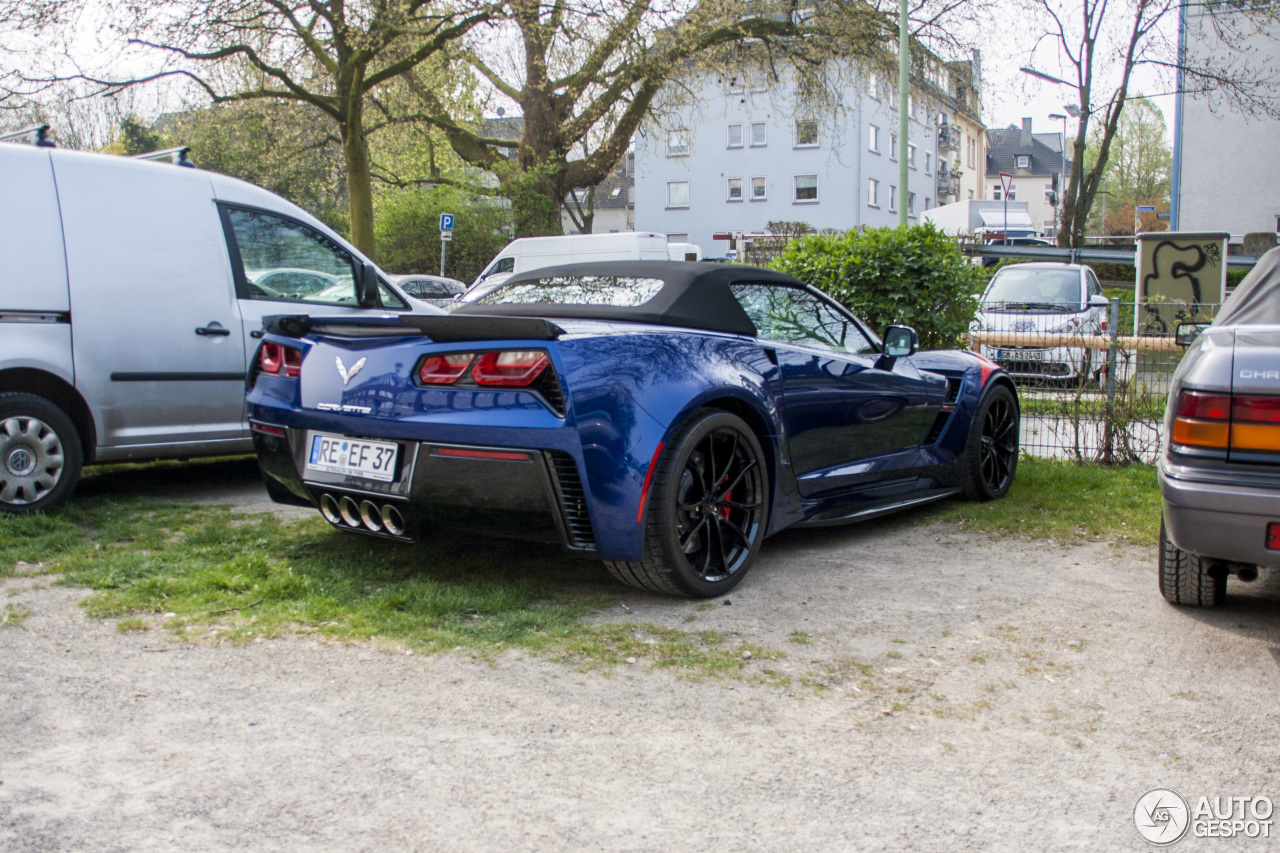 Chevrolet Corvette C7 Grand Sport Convertible 5 April 2017 Autogespot