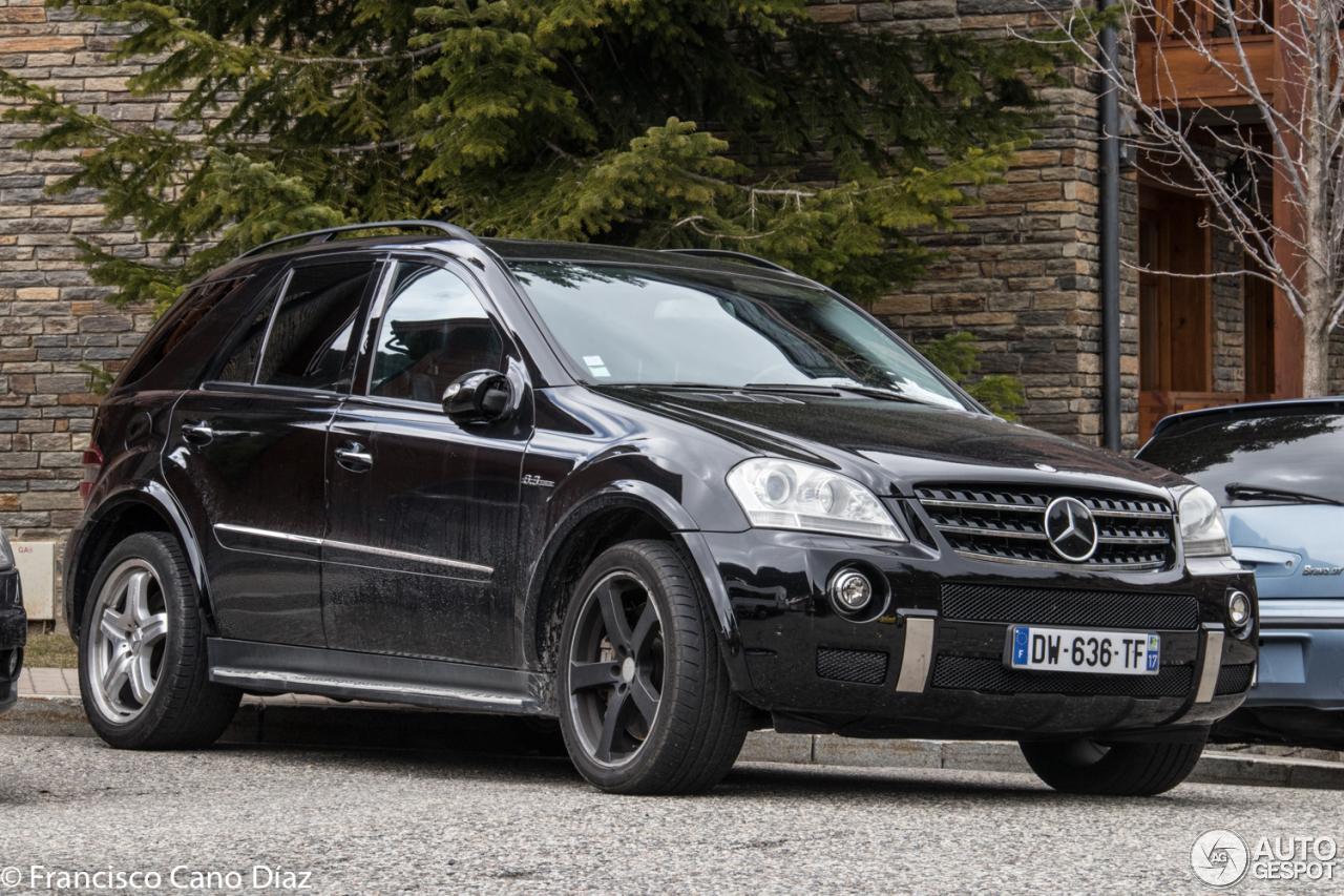 Mercedes benz ml 63 amg w164 5 april 2017 autogespot for Mercedes benz w164