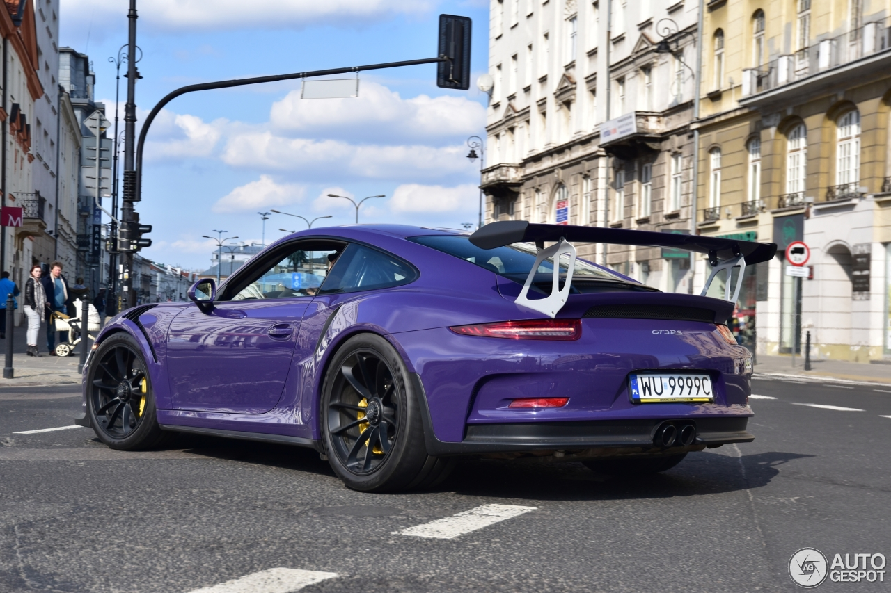 porsche 991 gt3 rs 5 april 2017 autogespot. Black Bedroom Furniture Sets. Home Design Ideas