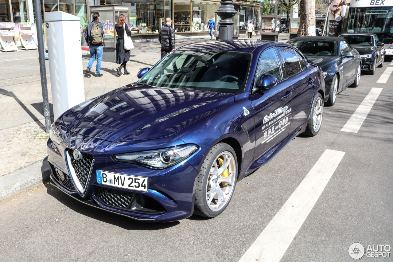 alfa romeo giulia quadrifoglio 6 april 2017 autogespot. Black Bedroom Furniture Sets. Home Design Ideas