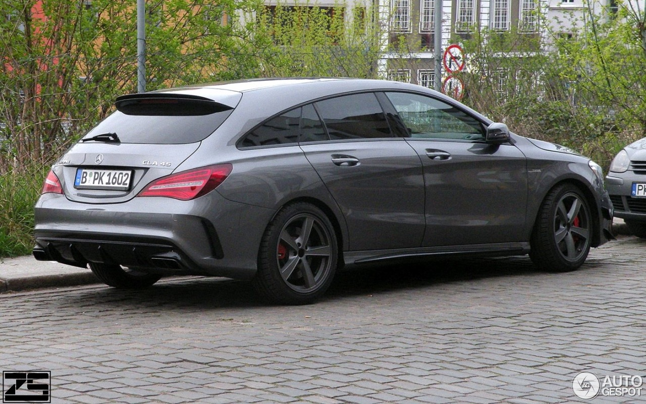 mercedes amg cla 45 shooting brake x117 2017 6 april 2017 autogespot. Black Bedroom Furniture Sets. Home Design Ideas