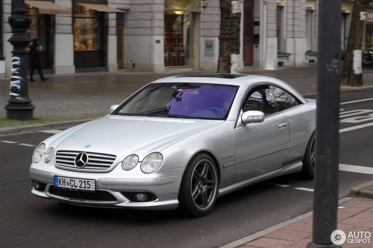 5 i mercedes benz cl 55 amg c215 kompressor 5