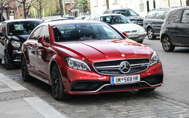 Mercedes Benz Cls 63 Amg S C218 2017