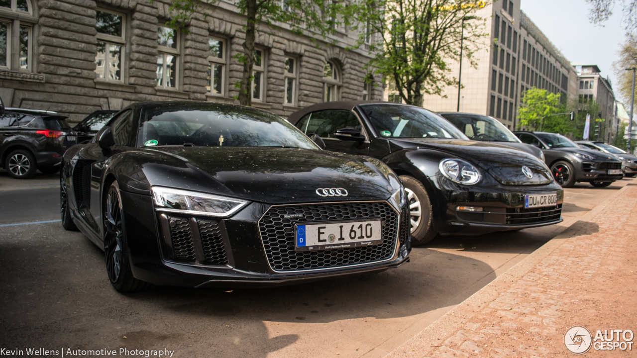 Audi r8 v10 2017 preis