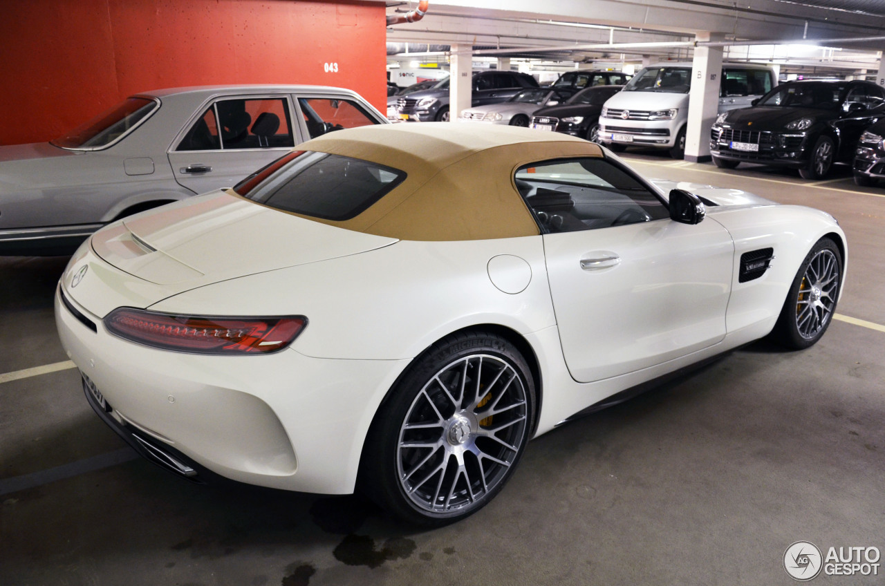 mercedes amg gt c roadster 8 april 2017 autogespot. Black Bedroom Furniture Sets. Home Design Ideas