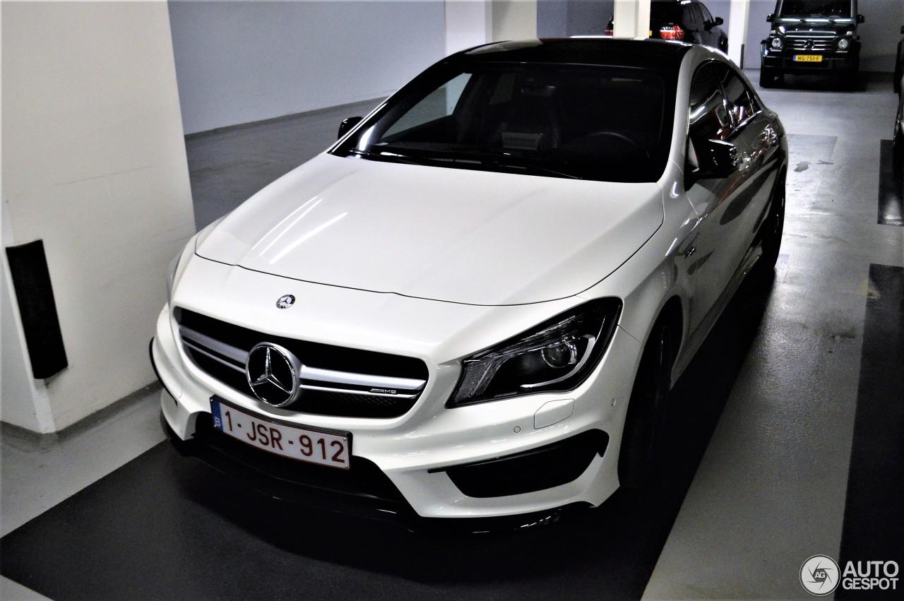 Mercedes benz cla 45 amg c117 8 april 2017 autogespot for Mercedes benz cla 2017