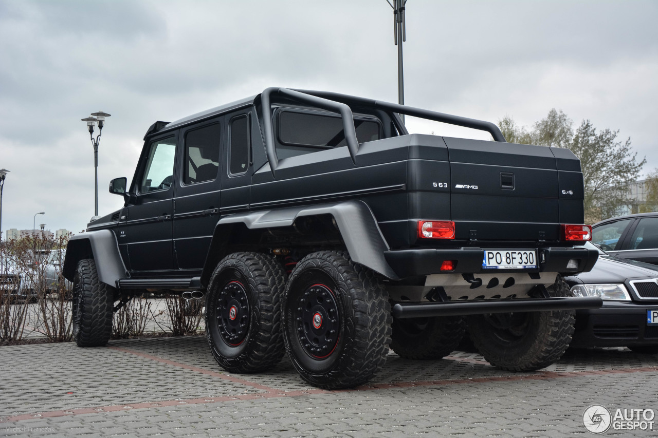 Mercedes benz g class 6x6 images galleries with a bite - Classe g 6x6 ...