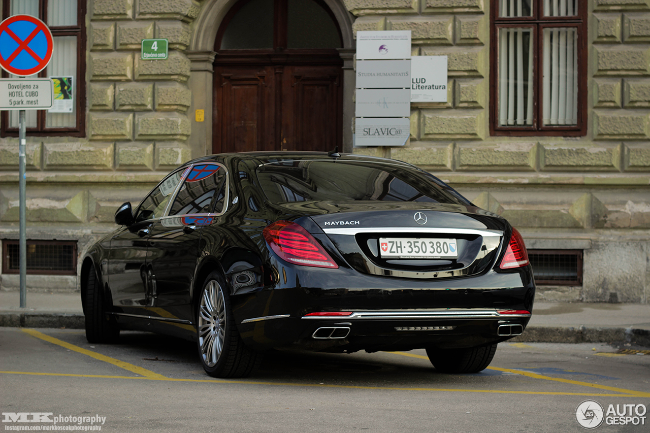 Mercedes maybach s600 8 april 2017 autogespot for 2017 mercedes benz s600 maybach