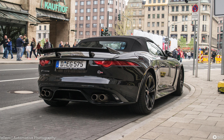Jaguar F-TYPE SVR Convertible - 8 April 2017 - Autogespot