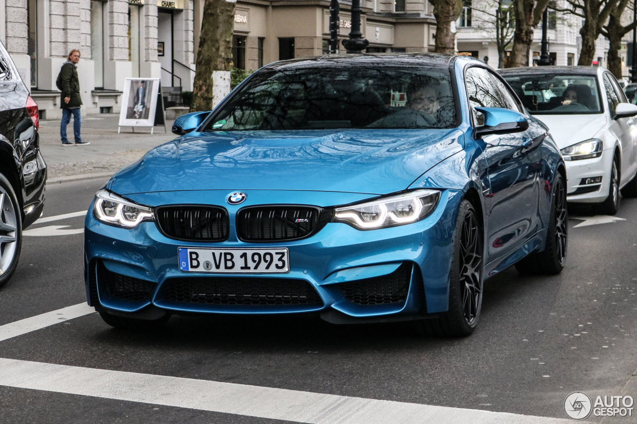 bmw m4 f82 coup 2017 9 april 2017 autogespot. Black Bedroom Furniture Sets. Home Design Ideas