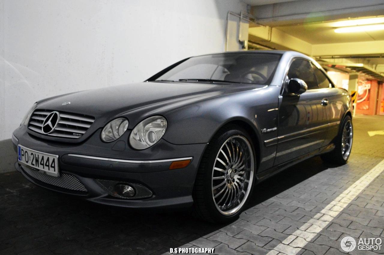 Mercedes benz cl 55 amg c215 kompressor 9 april 2017 for Mercedes benz amg kompressor