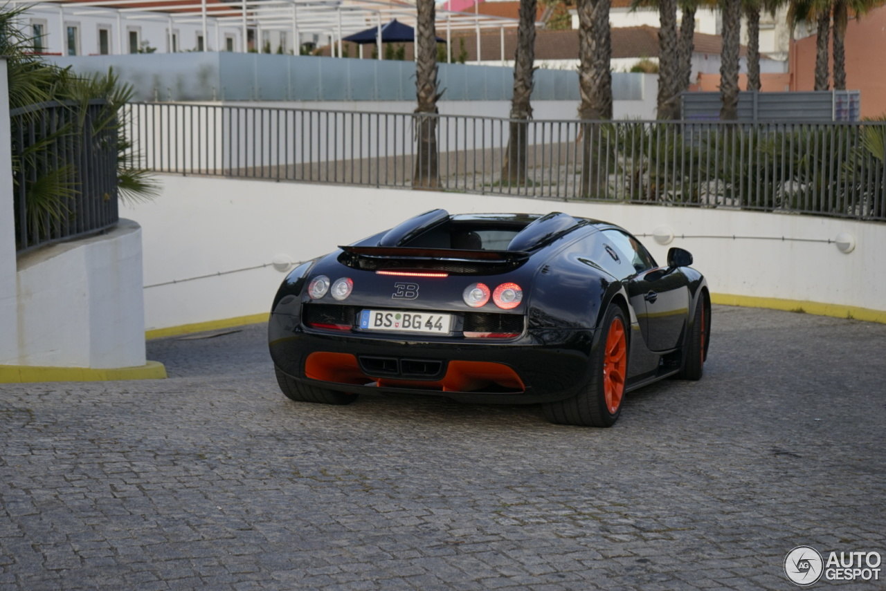 bugatti veyron 16 4 grand sport vitesse world record car edition 10 april 2. Black Bedroom Furniture Sets. Home Design Ideas
