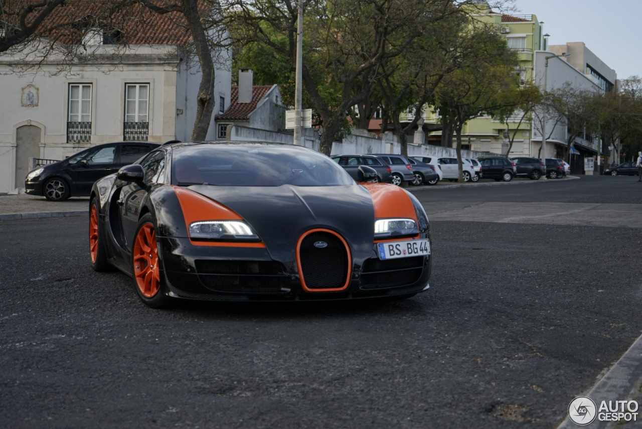 bugatti veyron 16 4 grand sport vitesse world record car edition 10 april 2. Black Bedroom Furniture Sets. Home Design Ideas