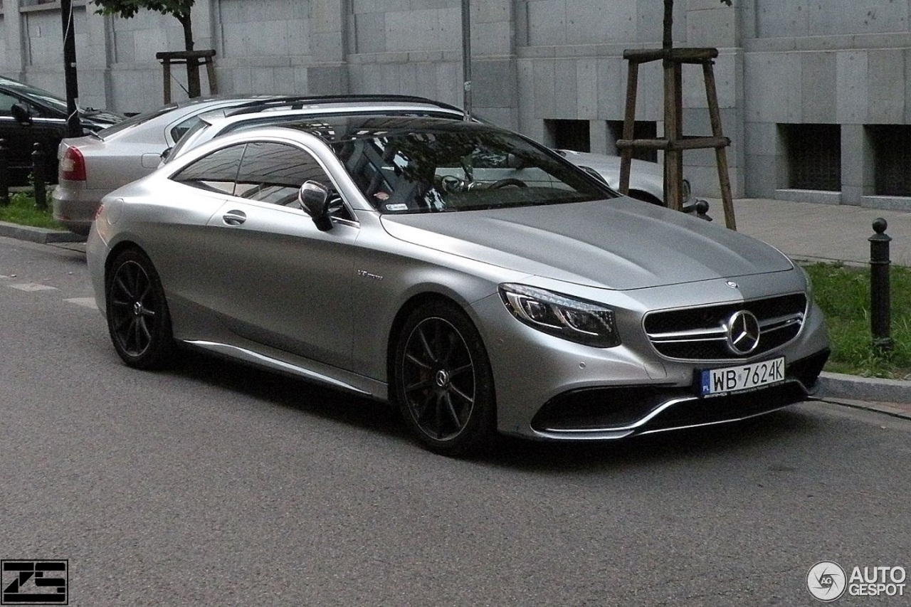 Mercedes benz s 63 amg coup c217 10 kwiecie 2017 for 2017 mercedes benz amg s 63 coupe