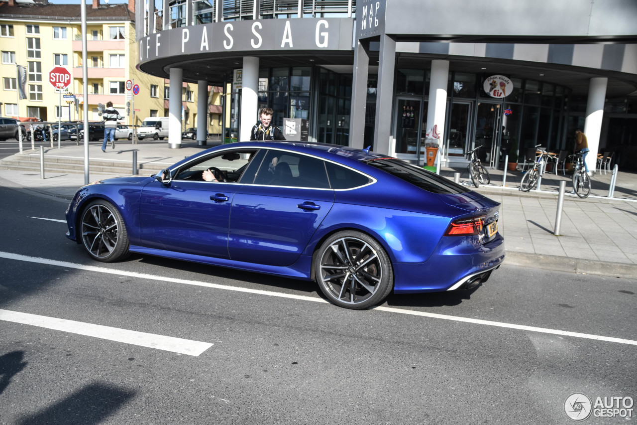 audi rs7 sportback 2015 performance 11 april 2017 autogespot. Black Bedroom Furniture Sets. Home Design Ideas