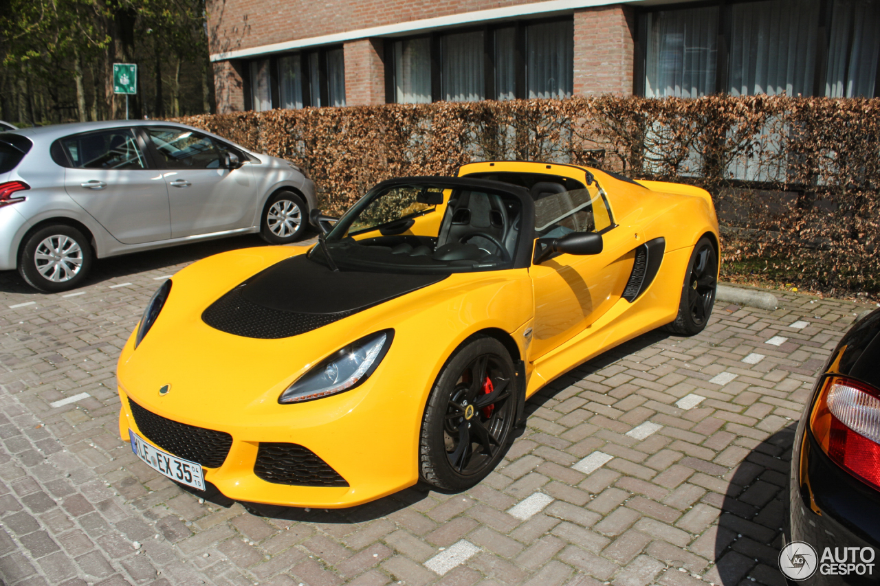 lotus exige 350 sport roadster 11 april 2017 autogespot. Black Bedroom Furniture Sets. Home Design Ideas