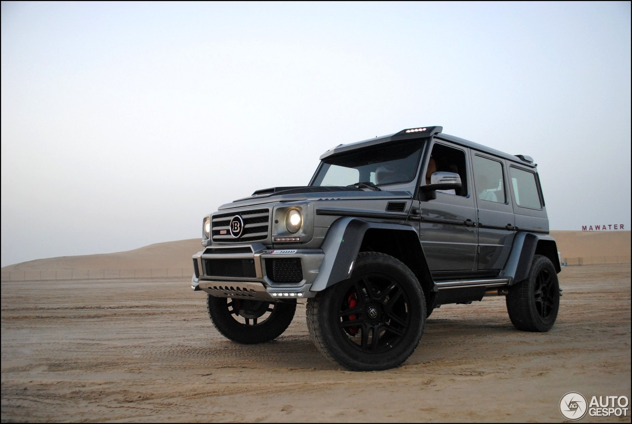 mercedes benz brabus g 500 4x4 b40 500 11 avril 2017 autogespot. Black Bedroom Furniture Sets. Home Design Ideas
