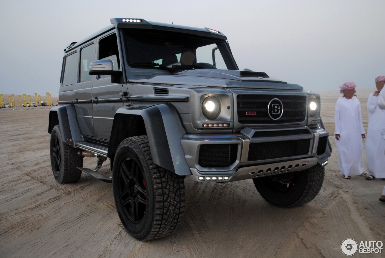 Mercedes benz brabus g 500 4x4 11 april 2017 autogespot for Mercedes benz 4x4 2017