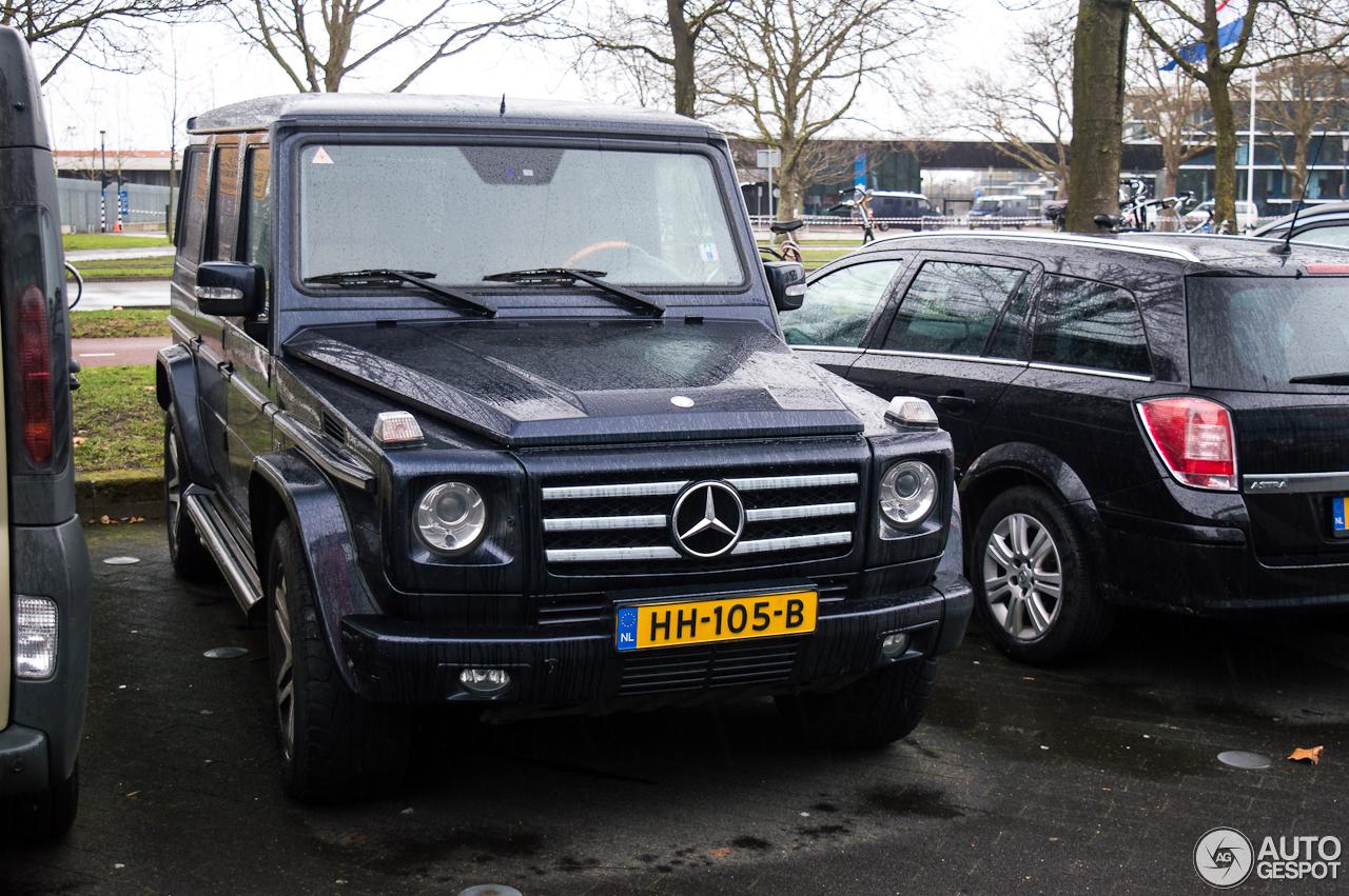 Mercedes benz g 55 amg kompressor 2007 12 april 2017 for Mercedes benz amg kompressor