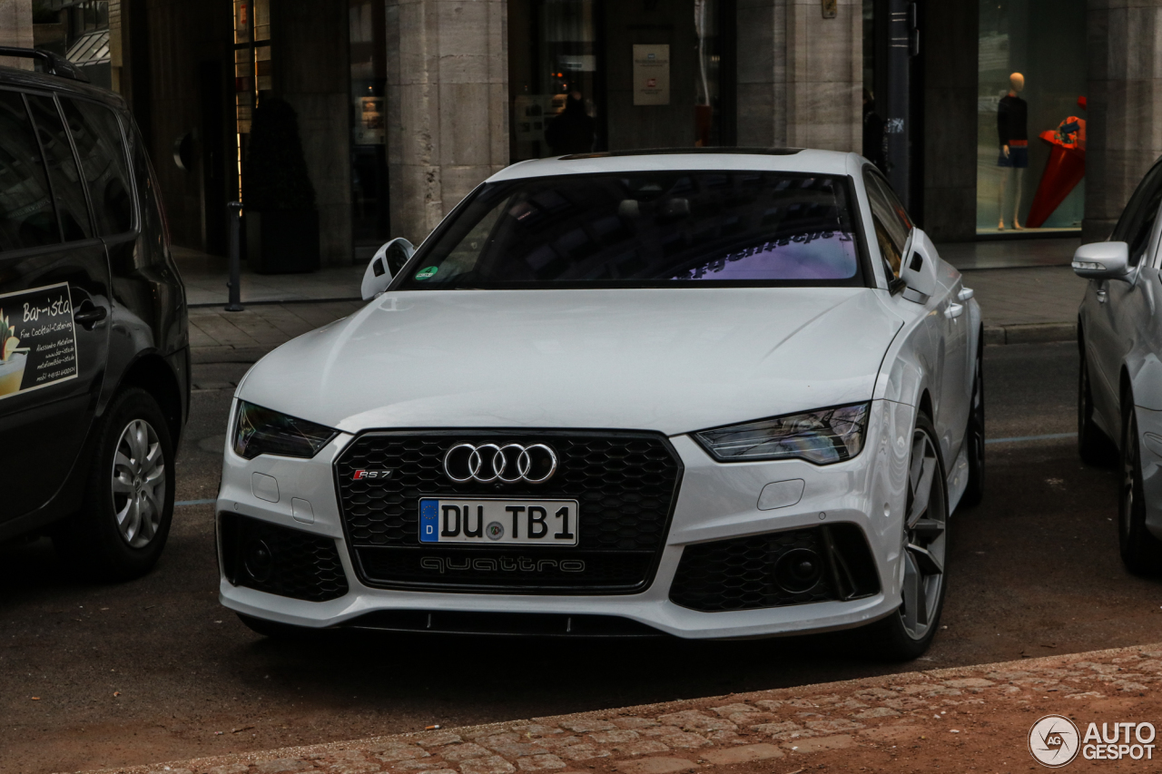 audi rs7 sportback 2015 performance 13 april 2017 autogespot. Black Bedroom Furniture Sets. Home Design Ideas