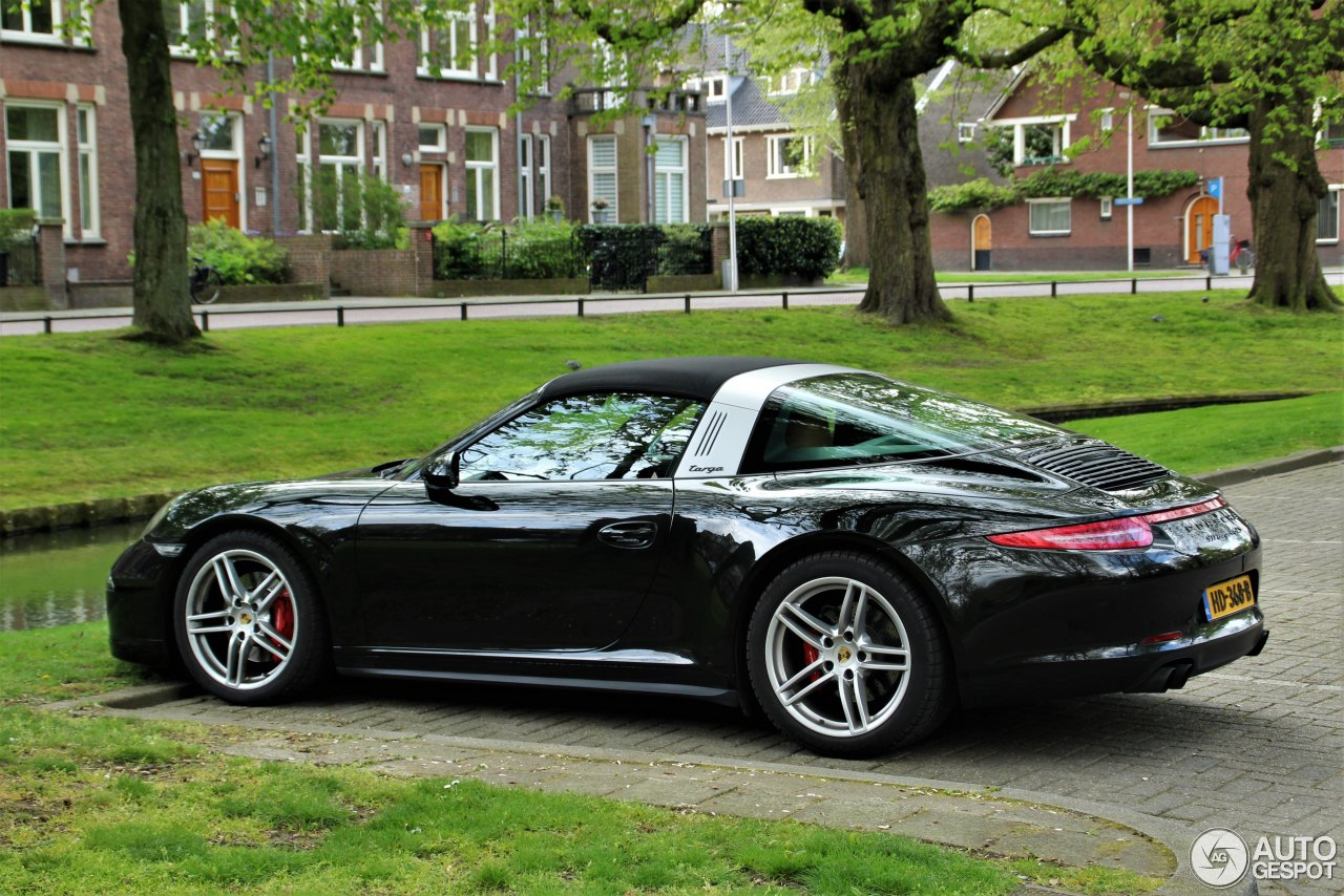 porsche 991 targa 4 gts 13 april 2017 autogespot. Black Bedroom Furniture Sets. Home Design Ideas