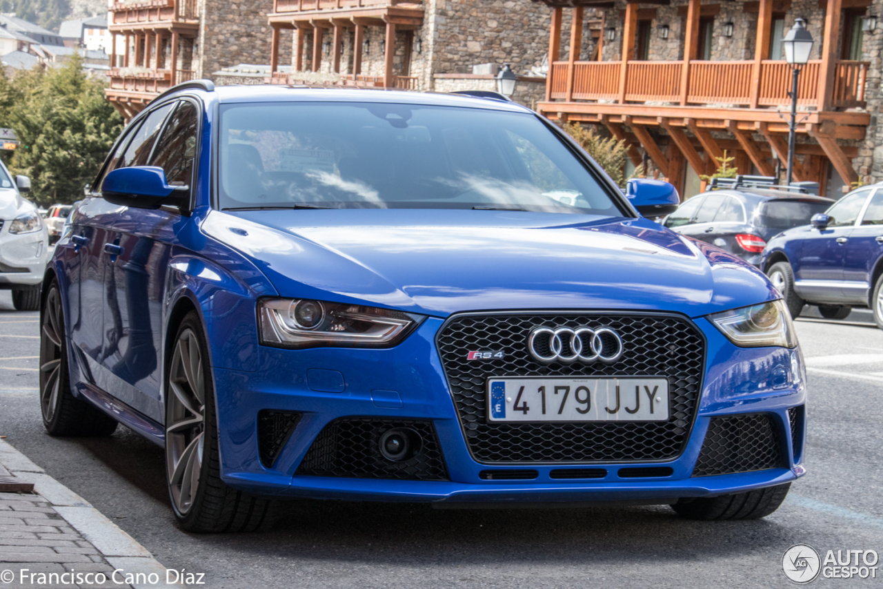 Audi Rs4 Avant B8 Nogaro Selection 14 April 2017