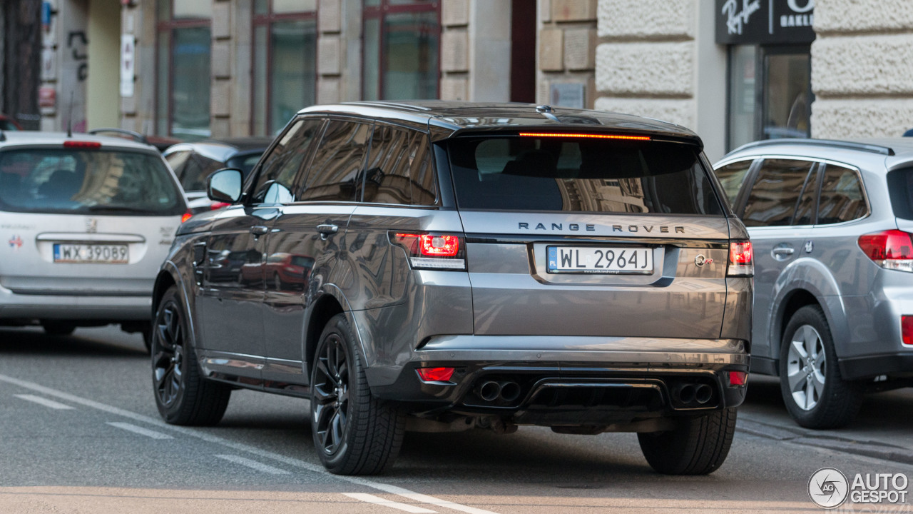land rover range rover sport svr 15 april 2017 autogespot. Black Bedroom Furniture Sets. Home Design Ideas
