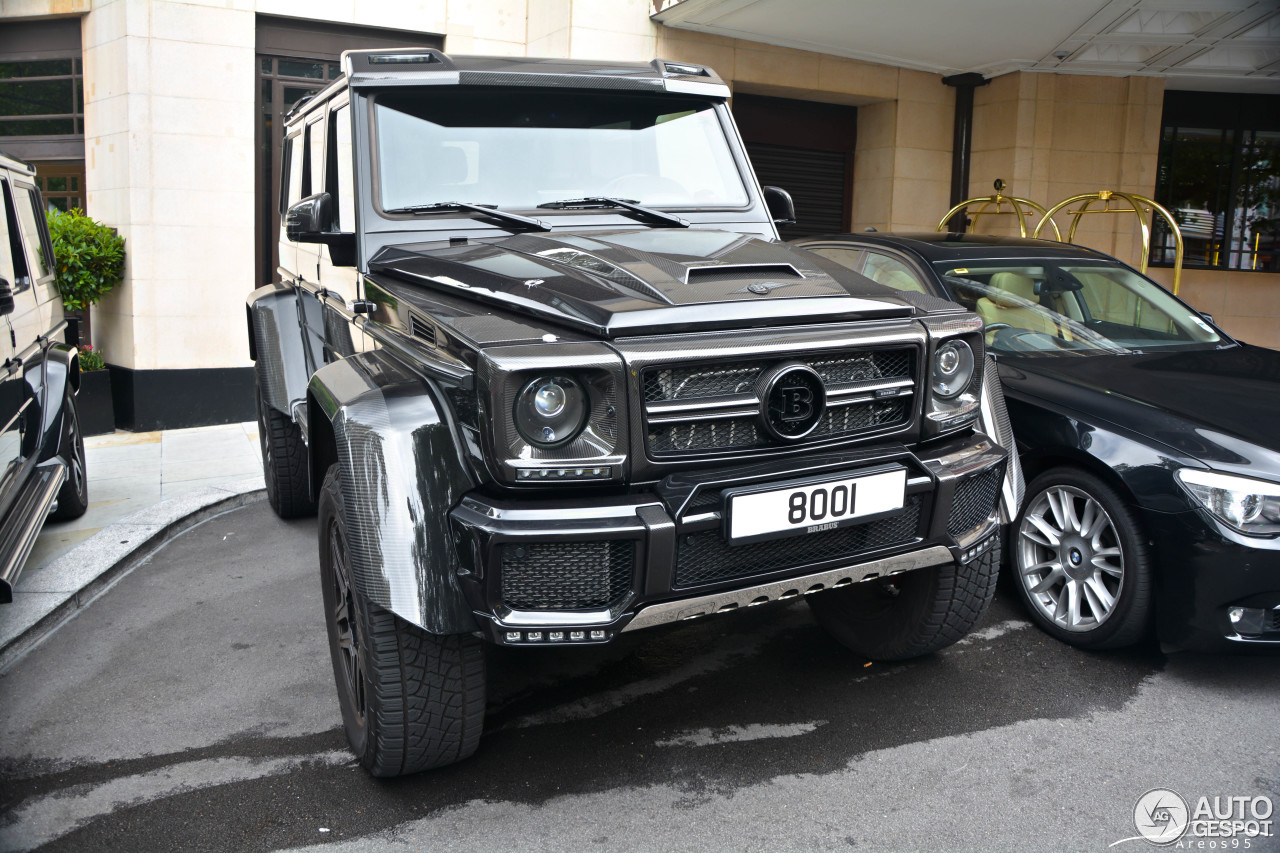 Mercedes benz brabus g 500 4x4 b40 500 15 april 2017 for Mercedes benz g 500