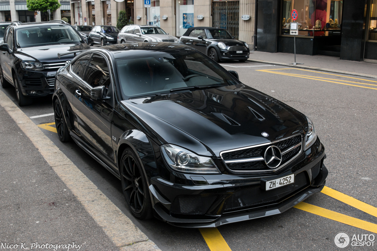 Mercedes benz c 63 amg coup black series 15 april 2017 for Mercedes benz c63 amg black series for sale