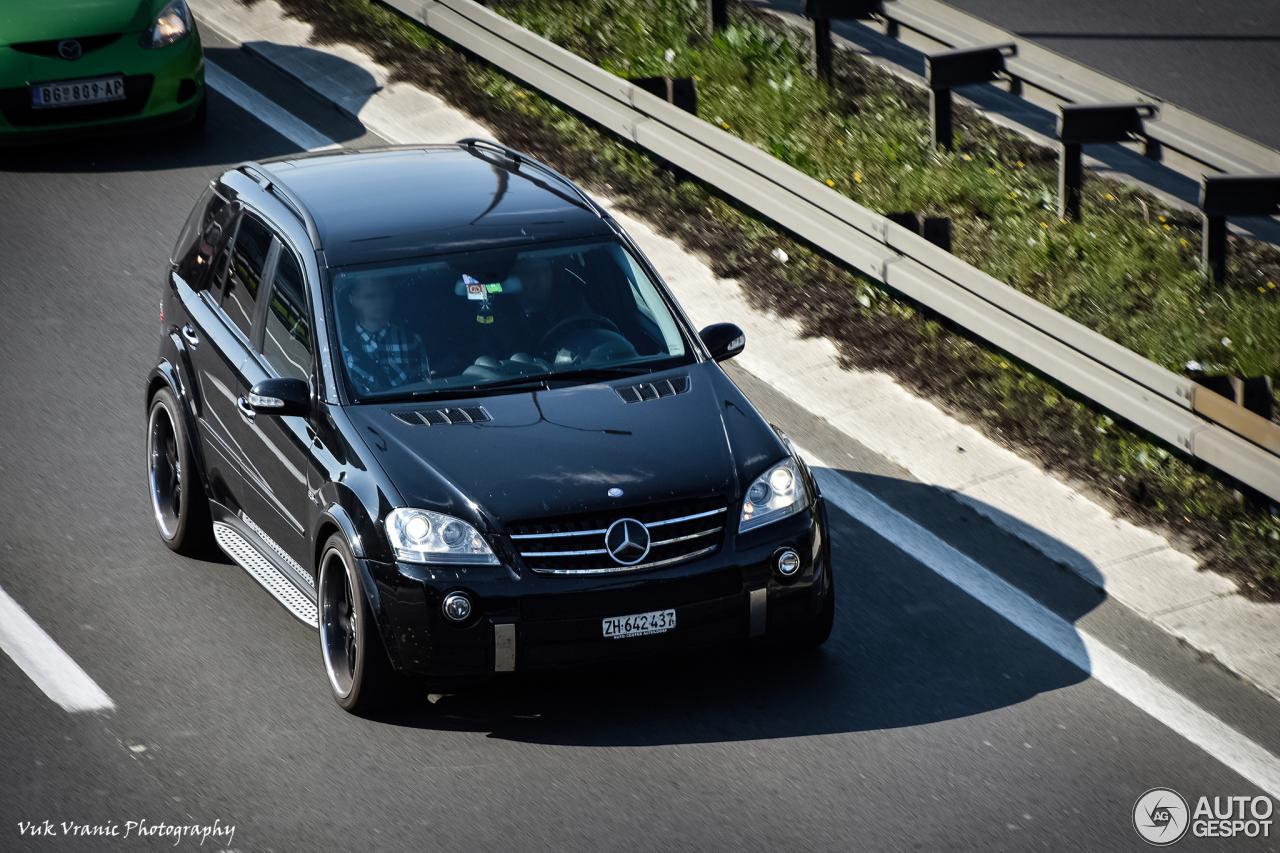 Mercedes benz ml 63 amg w164 15 april 2017 autogespot for Mercedes benz ml 2017