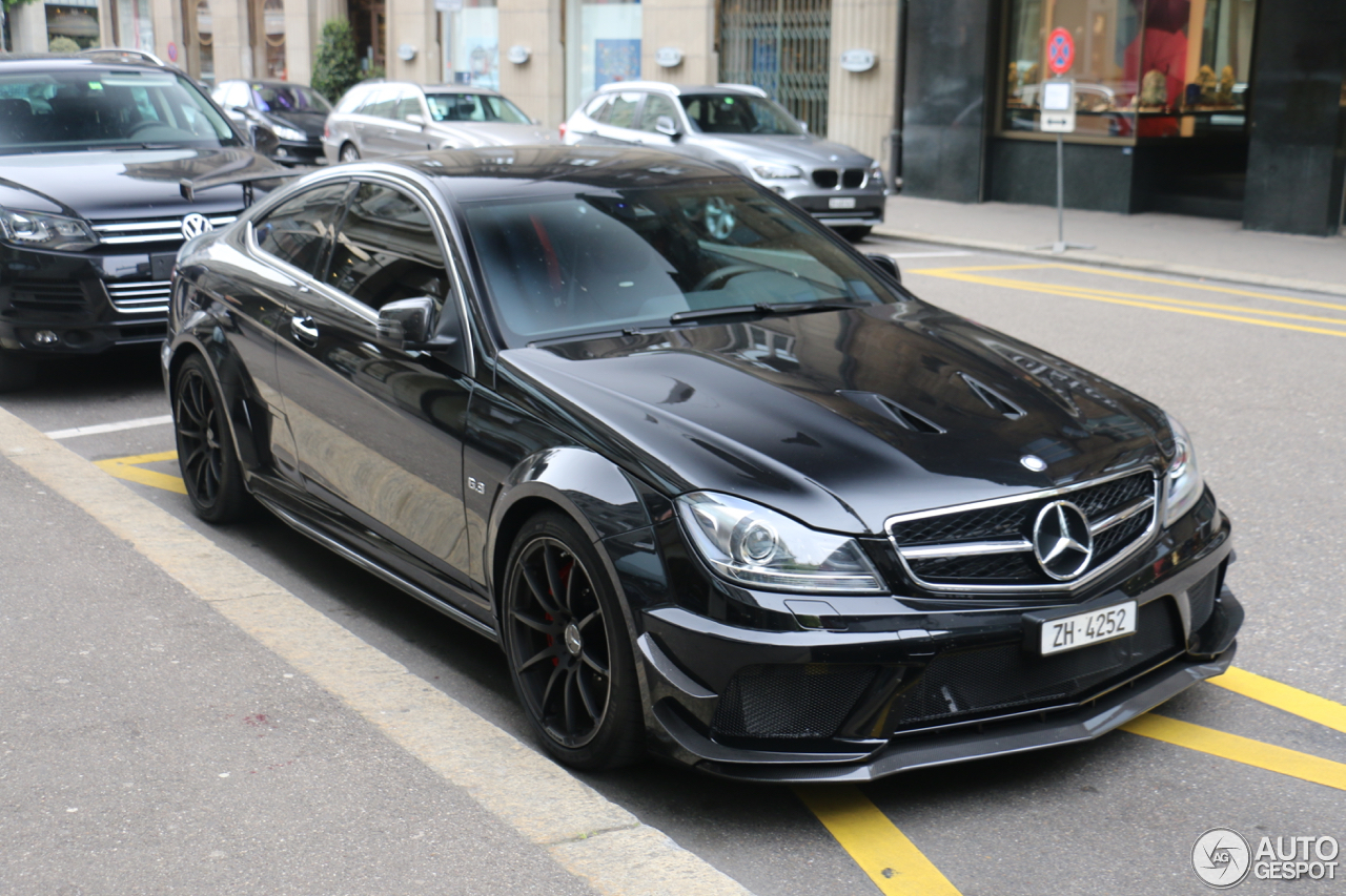 Mercedes benz c 63 amg coup black series 16 april 2017 for Mercedes benz s series