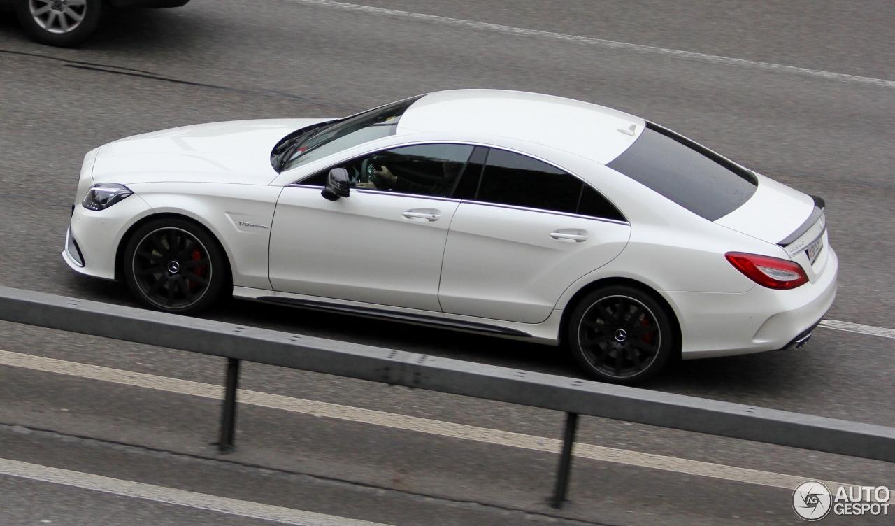Mercedes benz cls 63 amg s c218 2015 16 april 2017 for 2017 amg cls 63 mercedes benz
