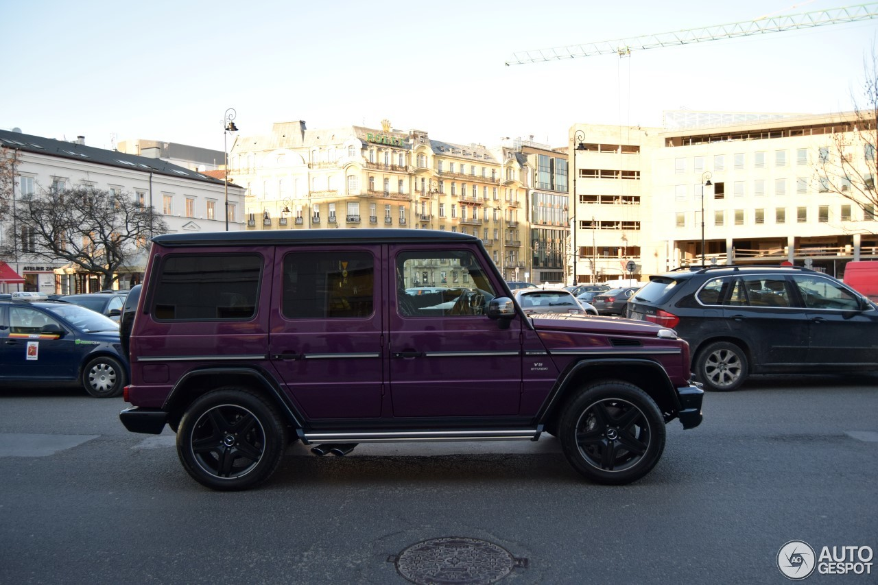 Mercedes benz g 63 amg crazy color edition 16 april 2017 for 2017 mercedes benz amg g 63