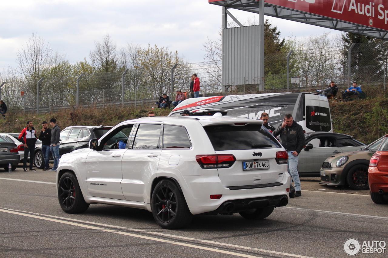 jeep grand cherokee srt 8 2016 night edition 17. Black Bedroom Furniture Sets. Home Design Ideas